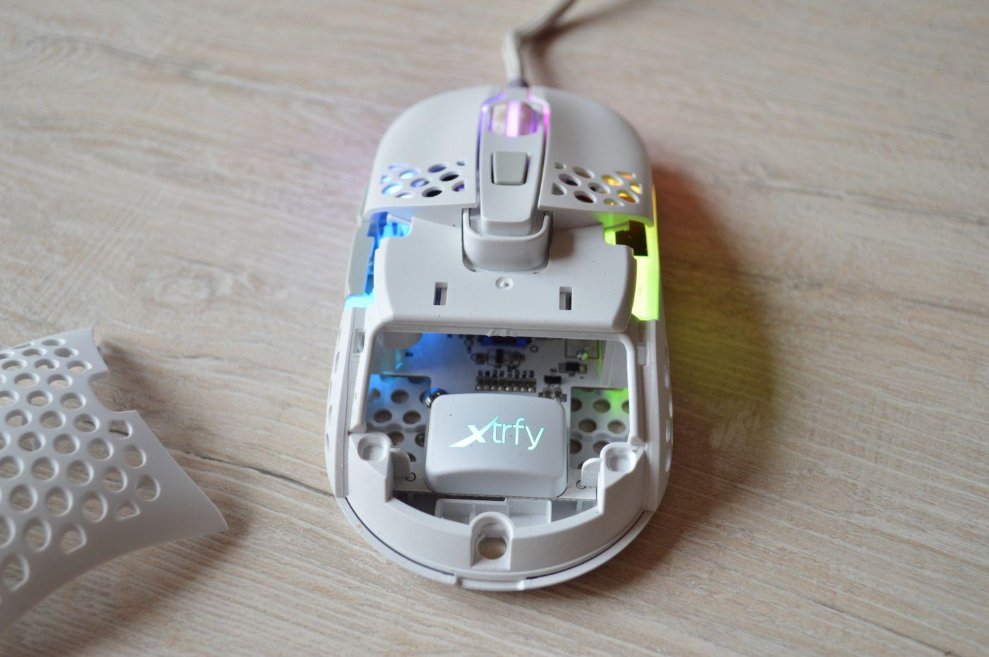 Xtrfy M42 RGB White без крышки