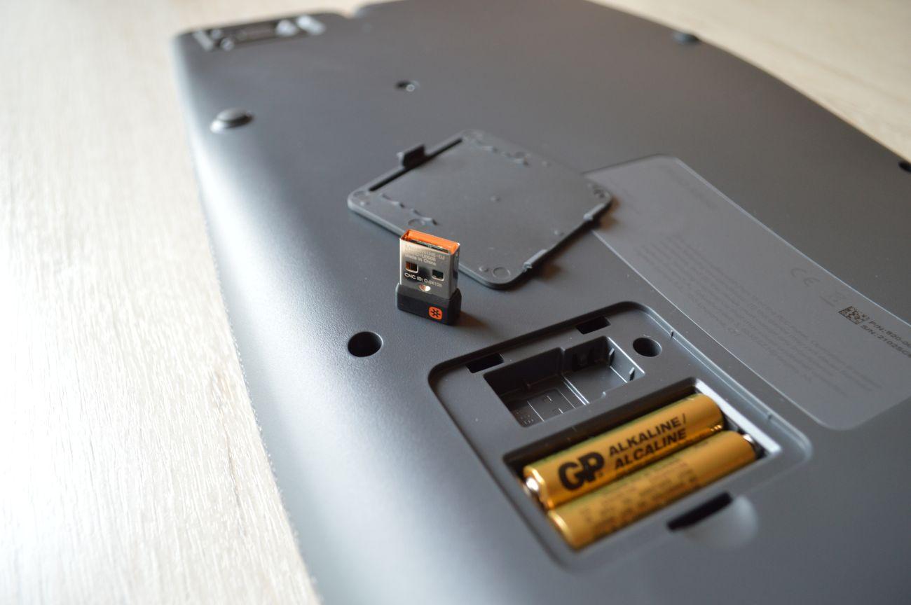 комплект Logitech Ergo K860
