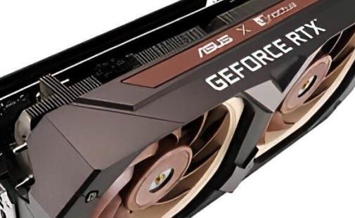 ASUS GeForce RTX 3070 с охлаждением от Noctua
