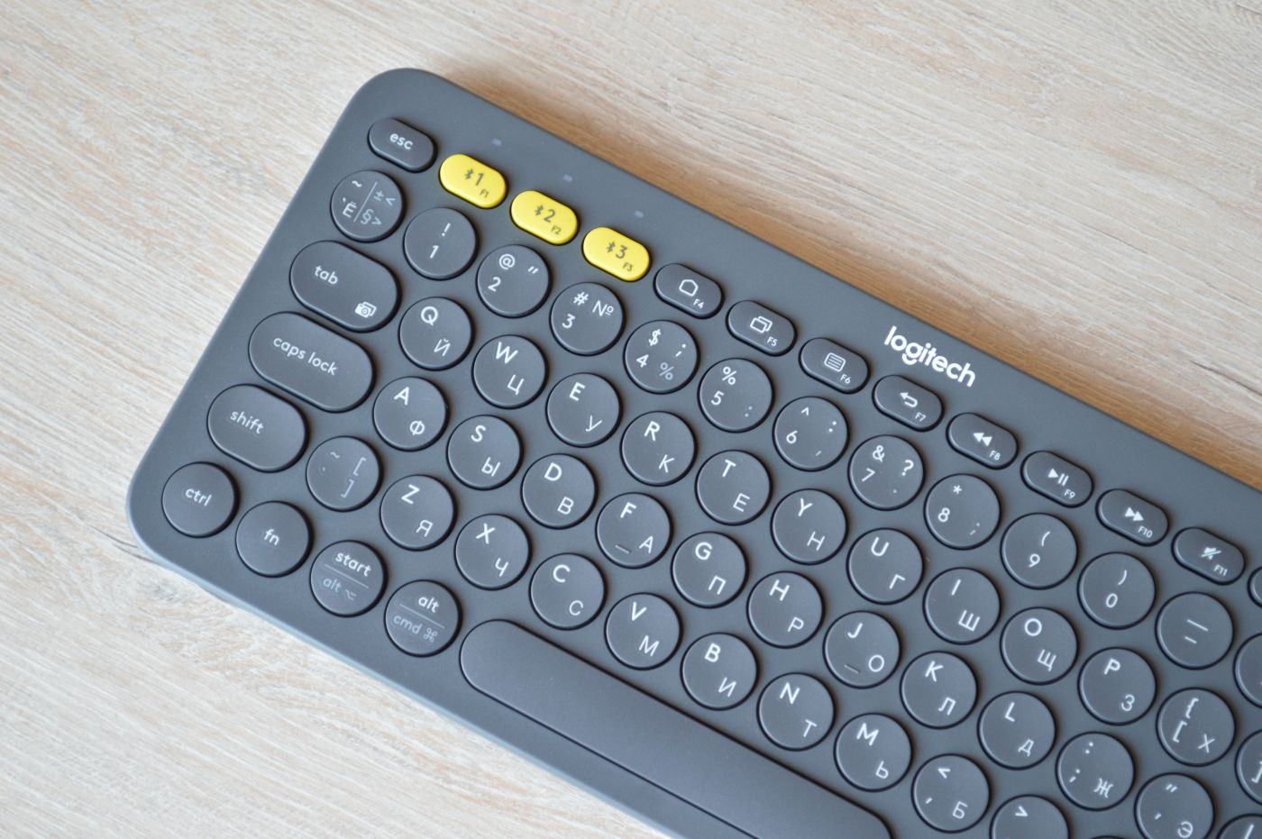 клавиши Logitech K380 Slim Multi-Device
