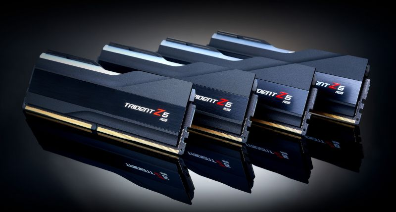 DDR5-6600 CL36 Trident Z5